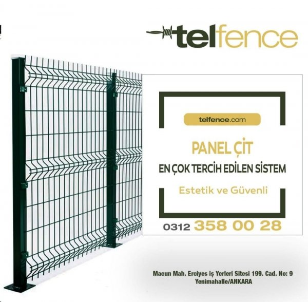 Telfence - Tel çit ve Bahçe çiti