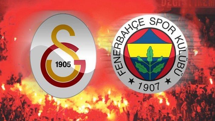 Galatasaray ve Fenerbahçe derbisinin 11'leri belli oldu