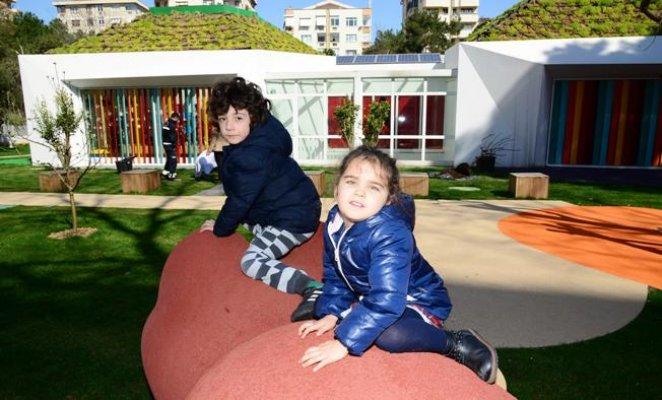 Kadıköy Belediyesi Bahriye Üçok Ekolojik Yuvası, dünyanın en iyi 10 okulu arasına girdi.