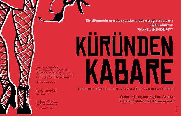 """""""Küründen Kabare"""" gala gösterimi ile sezonu açıyor"""
