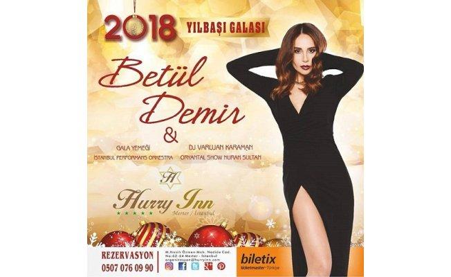 2018 yılbaşı gala gecesinde Betül Demir sizlerle buluşturuyor.