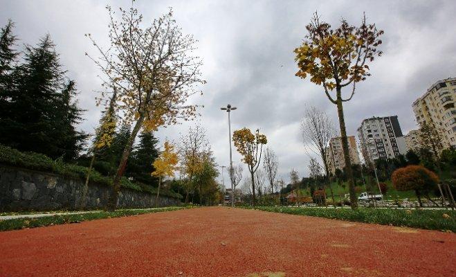 Başakşehirli sporseverlerin yürüyüş parkuru yenilendi