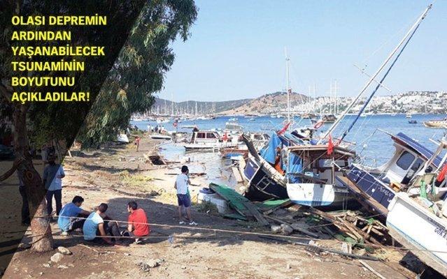 İstanbul'da 2 metrelik tsunami uyarısı