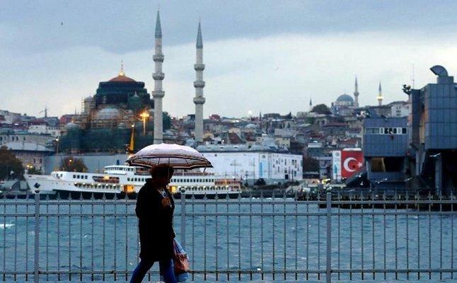 Meteoroloji İstanbul'da hava durumu için uyardı