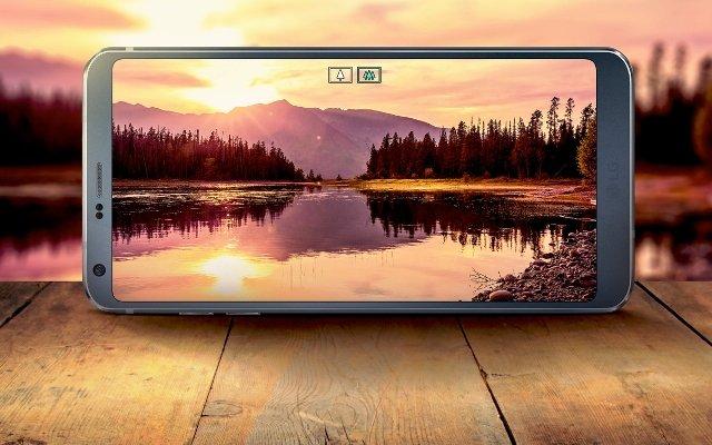 Suya ve toza dayanıklı LG G6