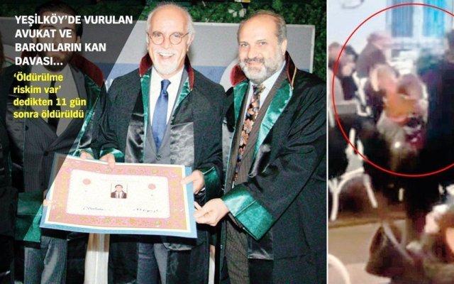 Yeşilköy'de öldürülen Avukat Kudbettin Kaya cinayetinin ayrıntıları ortaya çıktı