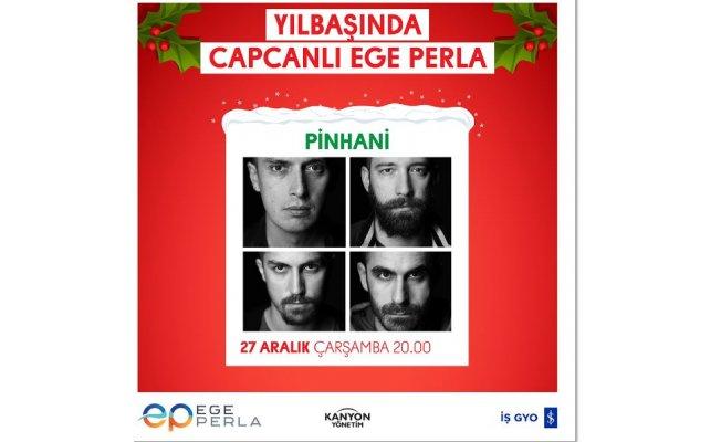 Ege Perla'nın Yılbaşı Konserleri Nefes Kesecek