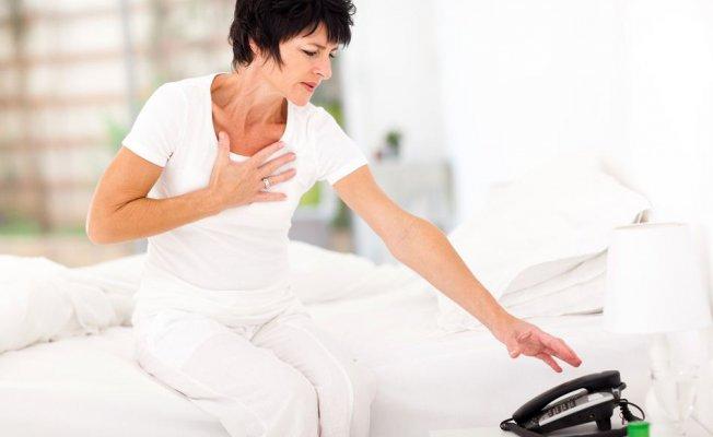 Hurafeler kadın kalbinde riski artırıyor