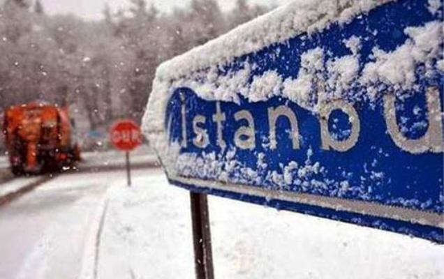 İstanbul'a ilk kar yağdı