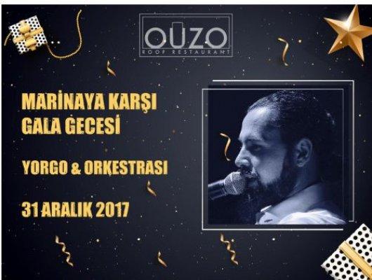 Ouzo Roof Restaurant´ta 2018  Yeni Yıl Galası