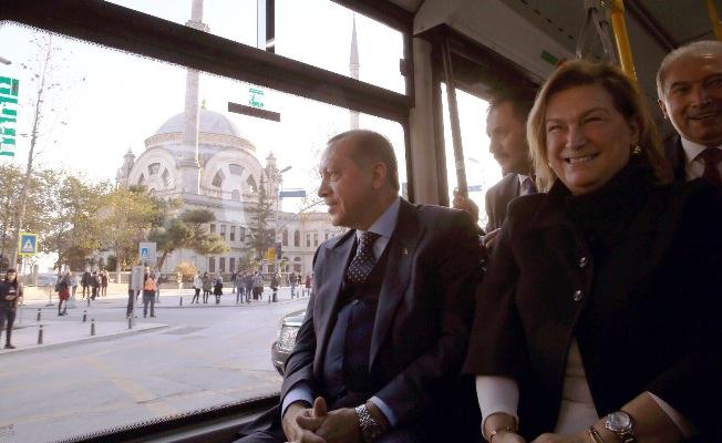 Türkiye'nin ilk elektrikli otobüsü