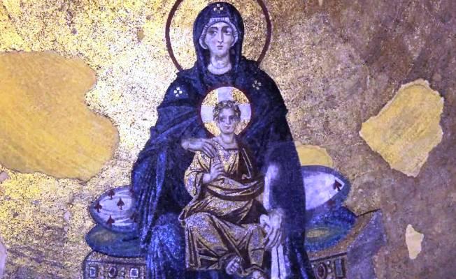 Ayasofya'daki Theatokos Mozaiği, İstanbul