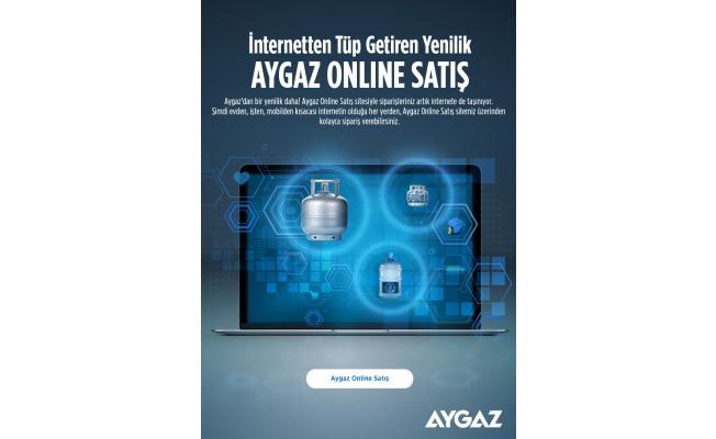 Aygaz, Online Satış Dönemini Başlattı