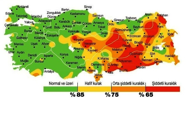 İstanbul ve Anadolu kuruyor barajlar boşalıyor