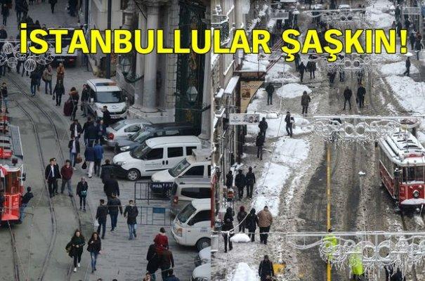 Kar beklerken İstanbul'a sıcaklar geliyor!