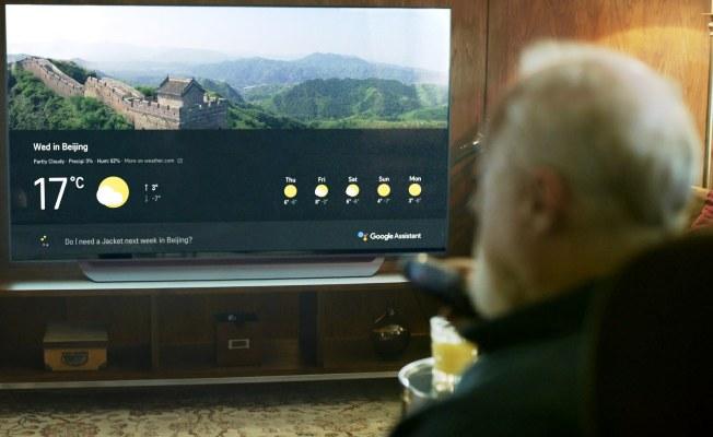 LG yapay zeka teknolojisine sahip televizyonu tanıttı