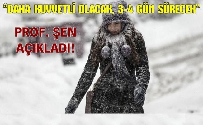Prof. Dr. Orhan Şen'den kar yağışı açıklaması (Hava durumu)