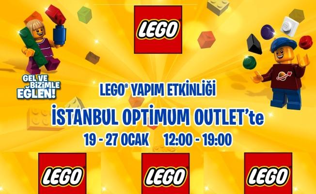 Sömestir Eğlencesi Optimum'da! Lego etkinliği