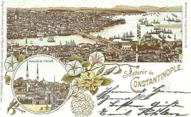19. yüzyıl İstanbul Art Nouveau akımı kartpostallarda