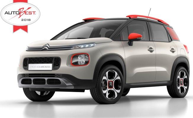 Citroën C3 Aircross 2018 yılının en iyi otomobili