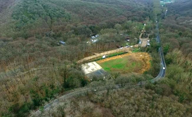 Dolmabahçe - Levazım Tüneli kapsamında ağaç taşıma işlemi sona erdi