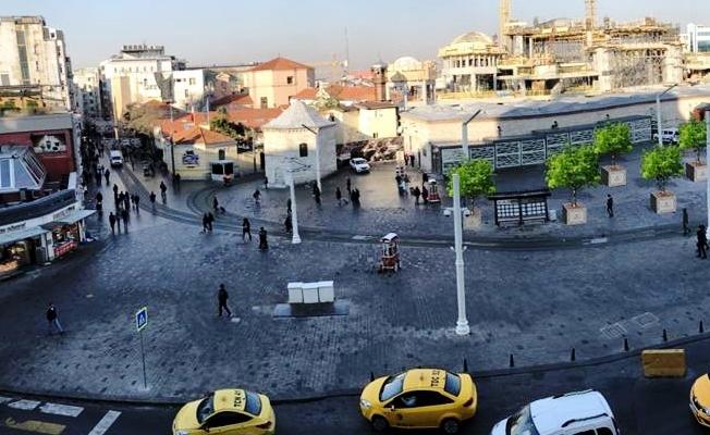 İstiklal Caddesi'nde peysaj çalışmaları başlıyor