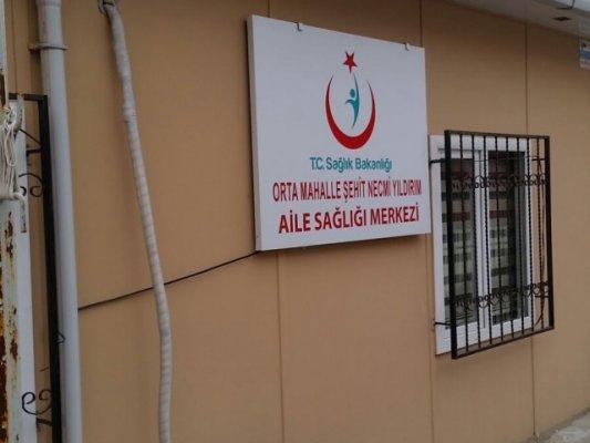 Orta Mahalle Şehit Jandarma Er Necmi Yıldırım ASM