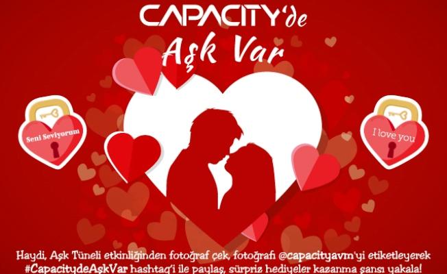 """Sevgililer Günü'ne özel  """"Aşk Tüneli"""" etkinliği"""