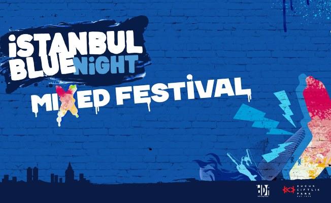 İstanbul Blue Night Mixed Festival'i KüçükÇiftlik Park'ta
