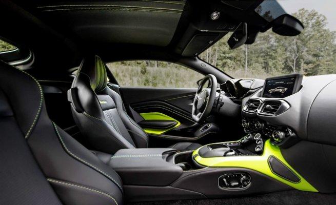Aston Martin'in tamamen yenilediği Vantage Türkiye'ye geliyor