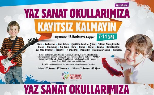 Ataşehir Yaz Sanat Okulları