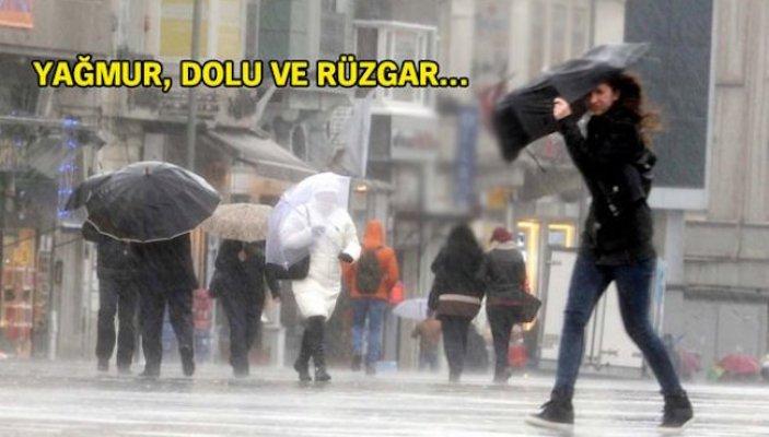 İstanbul için dolu uyarısı
