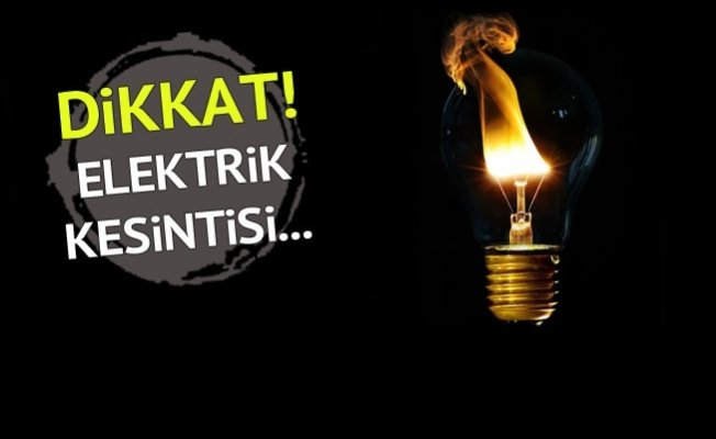 Fatih'te elektrik kesintisi var mı?