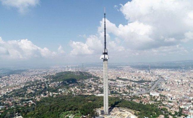 Çamlıca Kulesi kaç metre