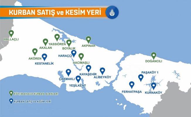 İstanbul kurban satış ve kesim yerleri