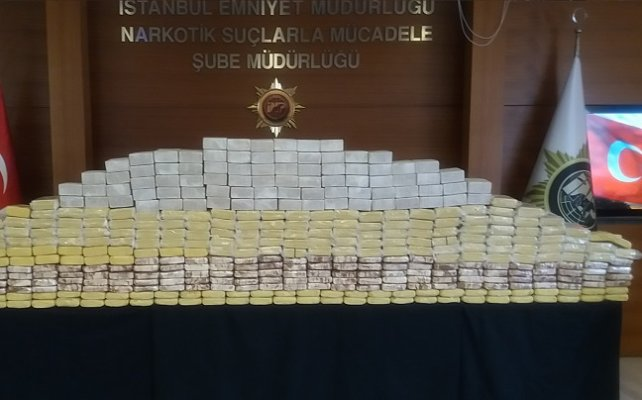 Lüks rezidansta 10 milyon liralık eroin