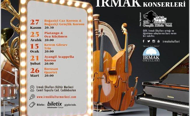 Irmak Konserleri 2018-2019 sezonuna hazır