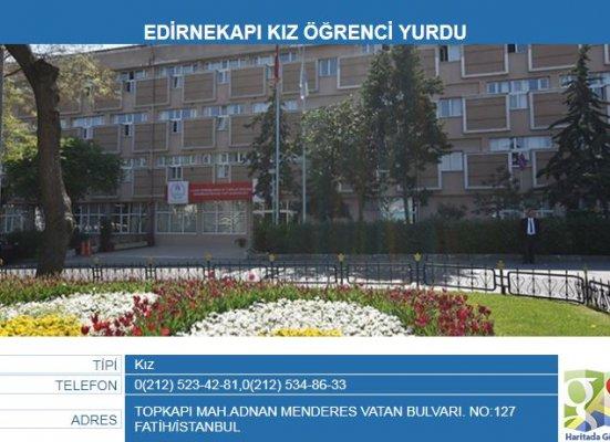 KYK Edirnekapı Kız Öğrenci Yurdu
