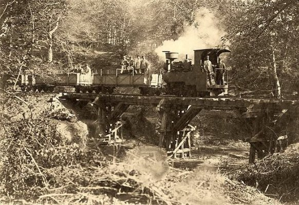 SİLAHTARAĞA-AĞAÇLI ARASI DÖŞENEN DEKOVİL HATTI 1910'LAR