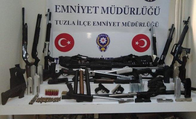 Tuzla'da Türkiye Huzur Güven-6 Uygulaması