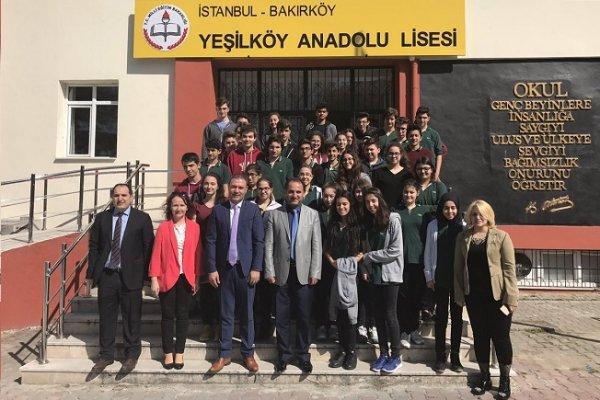 Yeşilköy Anadolu Lisesi Adres