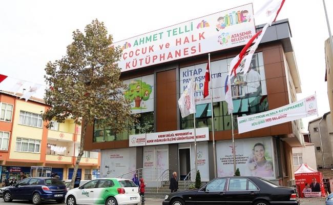 Ahmet Telli Çocuk ve Halk Kütüphanesi Adres