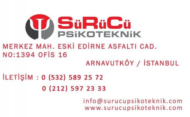 Arnavutköy Sürücü Psikoteknik Merkezi