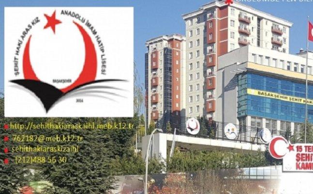 Başakşehir Şehit Haki Aras Kız Anadolu İmam Hatip Lisesi Yol Tarifi