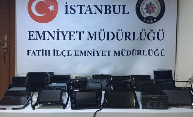 Fatih, Bakırköy ve Avcılar'da oto hırsızlık çetesi çökertildi