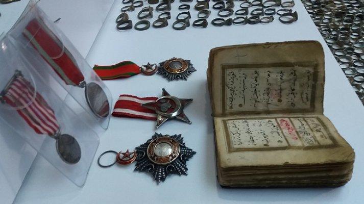 Milli mücadele madalyası, Romalı generalin matarası