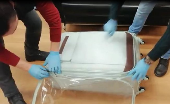 Kayıp valizden uyuşturucu çıktı