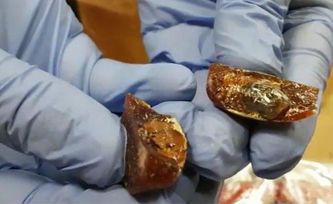 Başakşehir'de kalpli şekerlerden uyuşturucu çıktı