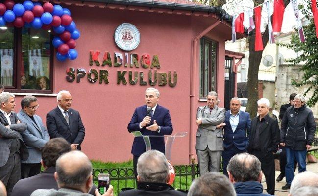 Kadırga Spor Kulübü'nün Yenilenen Lokal Binası