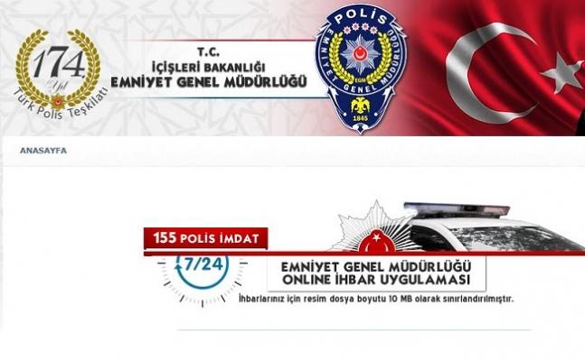 155 Polis İmdat İhbar Hattı